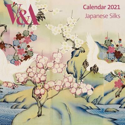 V&A - Japanese Silks Wall Calendar 2021 (Art Calendar) Cover Image