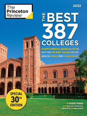 Cover for The Best 387 Colleges, 2022