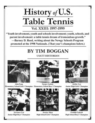 History of U.S. Table Tennis, Volume 23 Cover Image