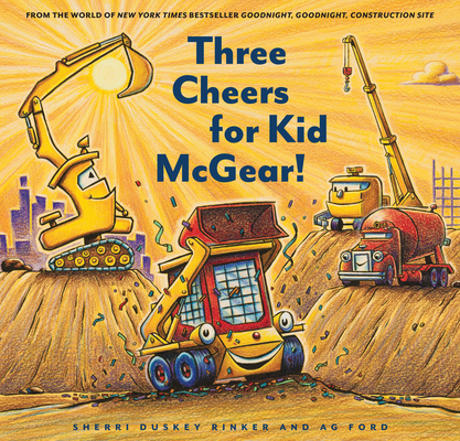 Three Cheers for Kid McGear! Cover Image