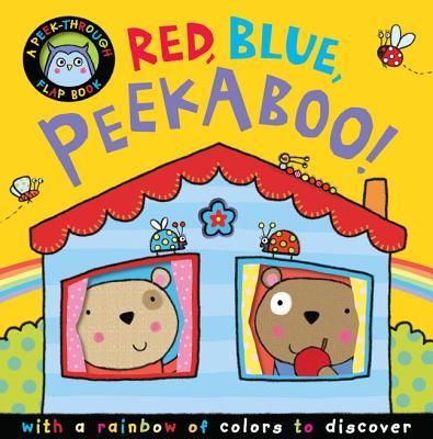 Red, Blue, Peekaboo! Cover Image