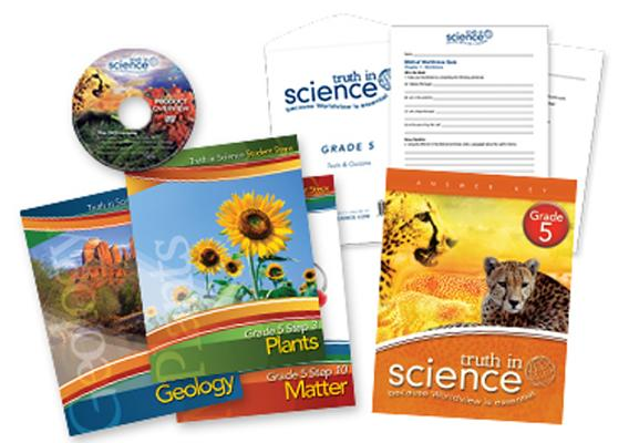 Truth in Science - Grade 5 - Student Steps Package Cover