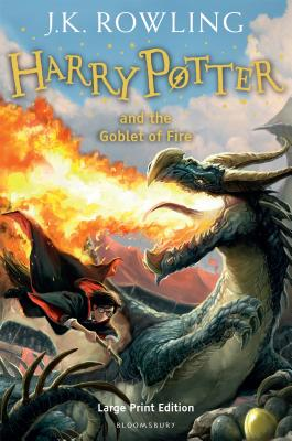 Harry Potter and the Goblet of Fire. J.K. Rowling Cover Image