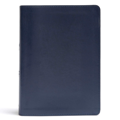 CSB She Reads Truth Bible, Navy LeatherTouch: Notetaking Space, Devotionals, Reading Plans, Easy-to-Read Font Cover Image
