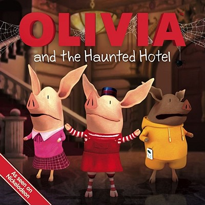 Olivia and the Haunted Hotel Cover