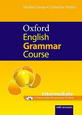 Oxford English Grammar Course: Intermediate [With CDROM] Cover Image