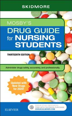 Mosby's Drug Guide for Nursing Students with 2020 Update Cover Image