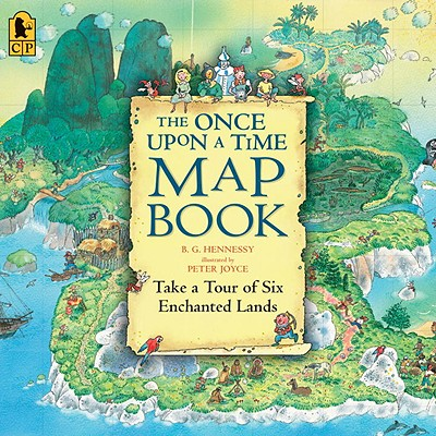 The Once Upon a Time Map Book Cover Image