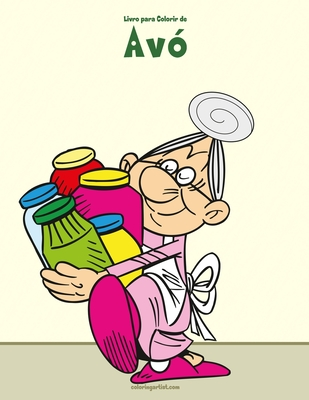 Livro para Colorir de Avó Cover Image