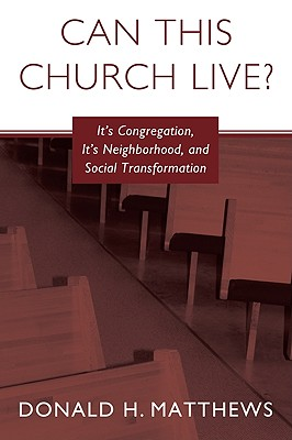 Can This Church Live? Cover Image