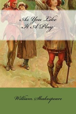 Cover for As You Like It A Play