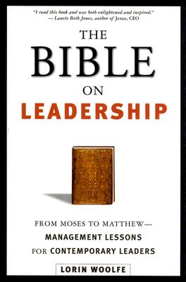 The Bible on Leadership Cover