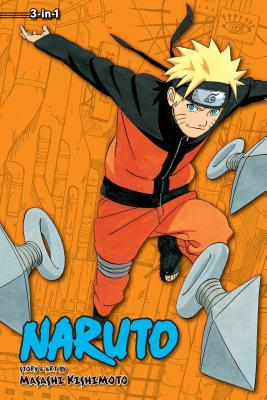 Naruto (3-in-1 Edition), Vol. 12 cover image
