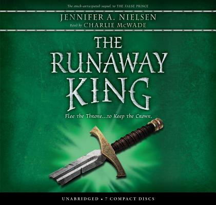 The Runaway King (The Ascendance Series, Book 2) (Audio Library Edition) Cover Image