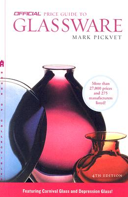 The Official Price Guide to Glassware, 4th Edition Cover
