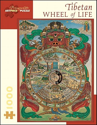 Puz Tibetan Wheel of Life Cover Image