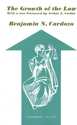 Cover for The Growth of the Law