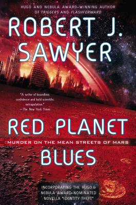 Cover for Red Planet Blues