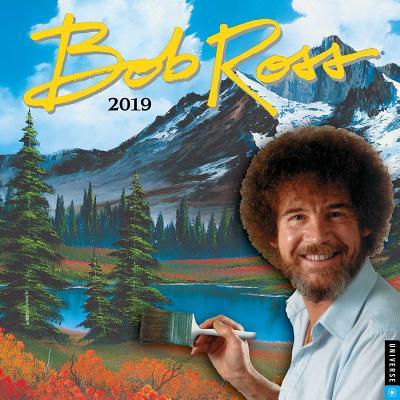 Bob Ross 2019 Wall Calendar Cover Image