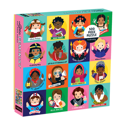Little Feminist 500 Piece Family Puzzle Cover Image