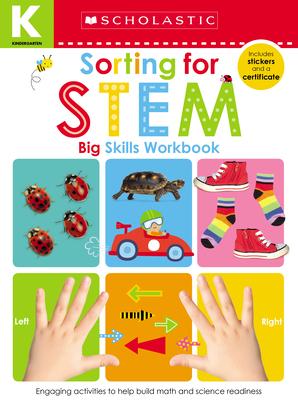 Sorting for STEM Kindergarten Workbook: Scholastic Early Learners (Big Skills Workbook) Cover Image