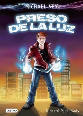 Michael Vey: Preso de la Luz = Michael Vey: The Prisoner of Cell 25 Cover Image