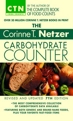 The Corinne T. Netzer Carbohydrate Counter Cover