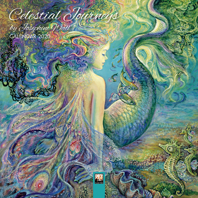 Celestial Journeys by Josephine Wall - Mini Wall Calendar 2020 (Art Calendar) Cover Image