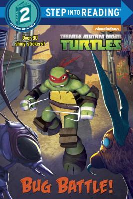 Bug Battle! (Teenage Mutant Ninja Turtles) (Step into Reading) Cover Image