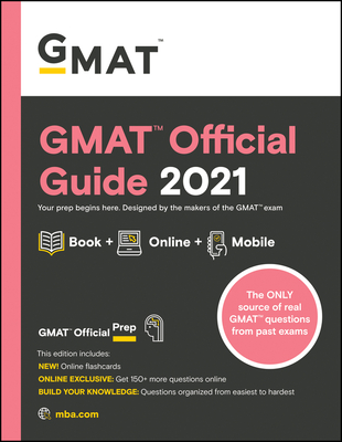 GMAT Official Guide 2021 Cover Image