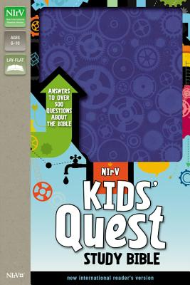 Kids' Quest Study Bible-NIRV: Answers to Over 500 Questions about the Bible Cover Image