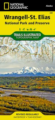 Wrangell-St. Elias National Park and Preserve (National Geographic Maps: Trails Illustrated #249) Cover Image