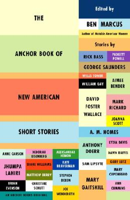 The Anchor Book of New American Short Stories Cover