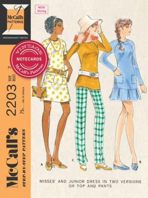 Vintage McCall's Patterns Notecards Cover Image