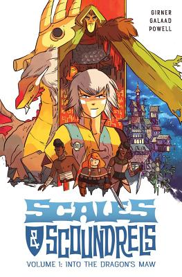 Scales & Scoundrels Volume 1: Into the Dragon's Maw Cover Image