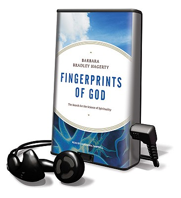 Fingerprints of God: The Search for the Science of Spirituality [With Headphones] (Playaway Adult Nonfiction) Cover Image