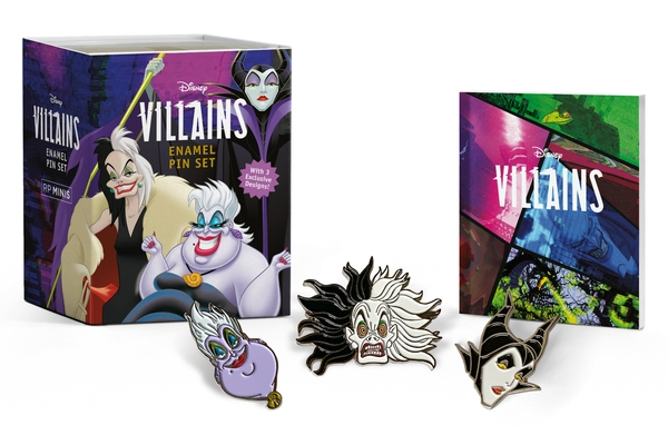Disney Villains Enamel Pin Set (RP Minis) Cover Image