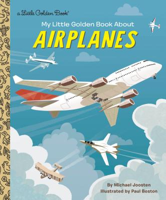 My Little Golden Book About Airplanes Cover Image
