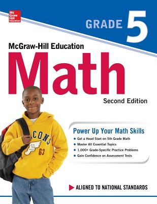 McGraw-Hill Education Math Grade 5, Second Edition Cover Image