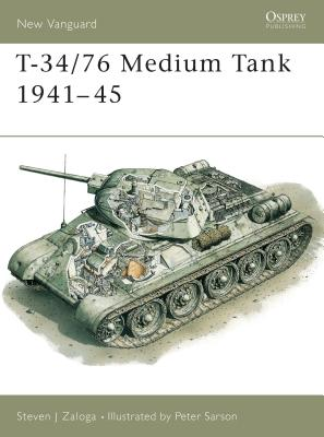 T-34/76 Medium Tank 1941 45 Cover Image