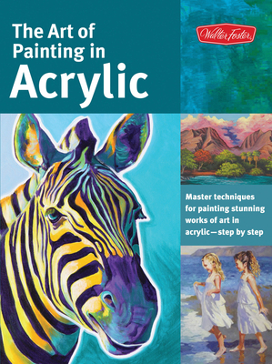 The Art of Painting in Acrylic Cover