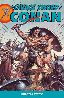 The Savage Sword of Conan, Volume 8 Cover