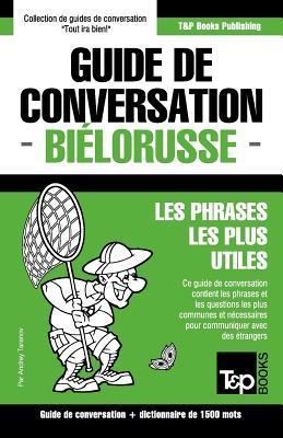 Guide de conversation Français-Biélorusse et dictionnaire concis de 1500 mots (French Collection #64) Cover Image