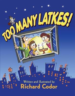 Too Many Latkes! Cover Image