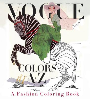 Vogue Colors A to Z: A Fashion Coloring Book Cover Image