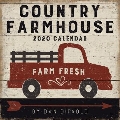 Country Farmhouse 2020 Wall Calendar Cover Image