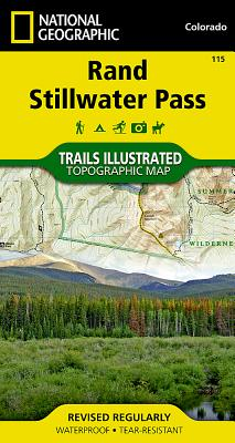 Rand, Stillwater Pass (National Geographic Maps: Trails Illustrated #115) Cover Image
