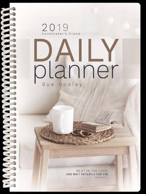 2019 Daily Planner: The Homemaker's Friend Cover Image