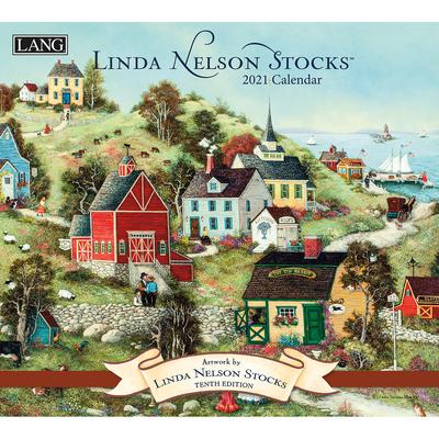 Linda Nelson Stocks 2021 Wall Calendar Cover Image