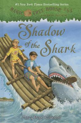 Shadow of the Shark (Magic Tree House (R) Merlin Mission #53) Cover Image